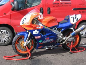 Laverda at Snetterton