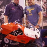 Henry Cole and Rage at Motorcycle Live